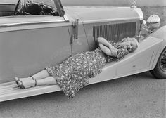 Image result for jean harlow colour in a car