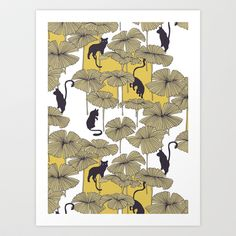 Ulha Sologato B/Y Art Print Promoters - $17.00