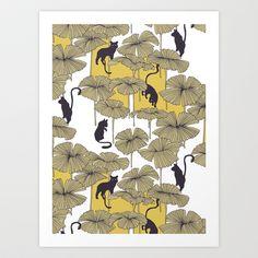 Ulha Sologato B/Y Art Print Promoters - $17.00