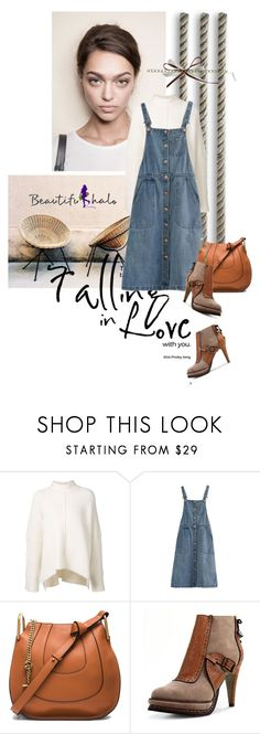 """""""Beautifulhalo"""" by lacas ❤ liked on Polyvore featuring URBAN ZEN, Chloé, vintage and bhallo"""