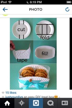 Great doughnut/cookie crate.
