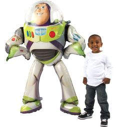 Giant Gliding Toy Story Buzz Lightyear Balloon - Party City