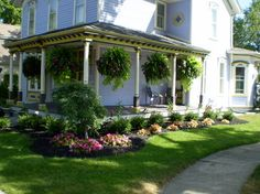 Landscape corner house ideas