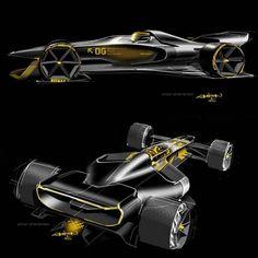 """Gefällt 562 Mal, 1 Kommentare - CarDesign.ru (@cardesign.ru) auf Instagram: """"Renault R. S. 2027 Vision Concept official sketches by Anton Shamenkov  #cardesign #renault…"""""""