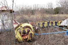abandoned amusement park / japan