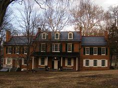 """Wheatland"" President James Buchanan House"
