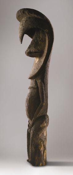 Lot 47 | Sotheby's LOT SOLD. 13,141 GBP   FERNWOOD SPIRIT STATUE, AMBRYM ISLAND, MALAMPA PROVINCE, VANUATU    Height: 84 1/2 inches (215 cm) Art Premier, Majestic Animals, Ocean Art, Religious Art, Tribal Art, Ancient Art, African Art, Culture, Sculpture Art