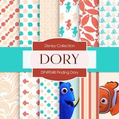 Finding Dory Digital Paper DP4904B
