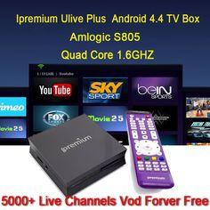 ipremium global iptv box kodi arabic iptv box 6000 tv channels no monthly fee