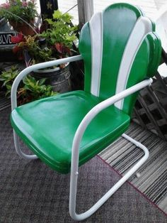 Re Done Vintage Shell Back Chair.