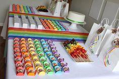Rainbow Parties, Rainbow Birthday Party, 3rd Birthday, Birthday Parties, Festa Do My Little Pony, Primary Activities, Singing Time, Event Decor, Decoration