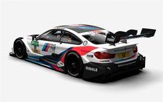 Download wallpapers BMW M4 DTM, 2018, BMW Motorsport, Champion Edition, DTM, exterior, racing car, BMW
