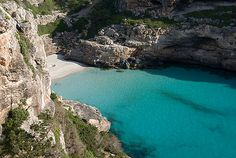 Cala Marmols (Mallorca) photo by tonirodfer from Flickr at Lurvely