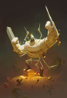 ArtStation - Mummy King, Tony Weinstock