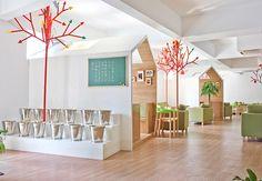 YAMODesign Studio have designed the Kale Café in Hangzhou, China