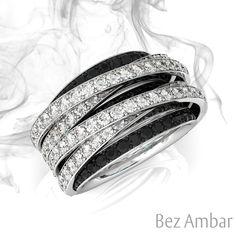 1000424c1 Bez Ambar: Custom Engagement Rings and Fine Jewelry. Crossover RingPrincess Cut  DiamondsRings ...