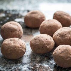 video recipe - Marzipan/Ladyfingers/Chocolate Pudding Potatoes