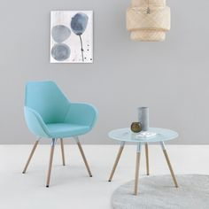 Fan armchair can be a real decoration of an office space or home interior - it's up to you. Just pick your favourite color and base!  #fan #profim #armchair #piotrkuchcinski#design #comfort #relax #modernfurniture #furnituredesign #universal #elegant #seating #inspiration #interiordesign #officesolution #colors #homeoffice   #fashion #style #luxury #beautiful #design #stylish #beauty #trendy White Upholstery, Conference Chairs, Chair, House Interior, Oak Color, Soft Flooring, Black Upholstery, Interior Design, Coffee Table