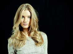 Rosie Huntington-Whiteley. Can I have your hair please?