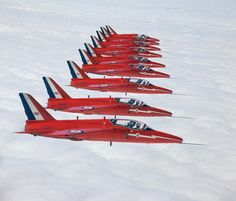 Incredible images of Britain's Cold War RAF from Red Arrow Plane, Raf Red Arrows, Military Jets, Military Aircraft, Folland Gnat, V Force, Post War Era, Royal Air Force, Paint Schemes