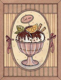 Схема вышивки «Мороженое» - Схемы вышивки - orehova71 - Авторы - Портал «Вышивка крестом»