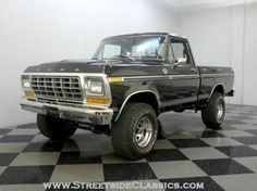 AutoTrader Classics - 1978 Ford F150 XLT Other Black 8 Cylinder Manual Other | Classic Trucks | Charlotte, NC $13,900