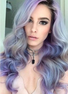 45 Fantastiche Immagini Su Capelli Lilla Hair Coloring Hairstyle