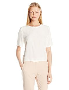 Equipment Women's Super Vintage Wash Fashion Bodies Brynn, Nature White, S ** Buy now: http://amzn.to/2icwgkh