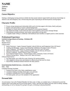 1000 images about Example Resume CV on Pinterest
