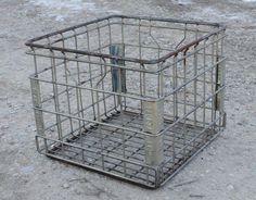 Image result for metal storage crates