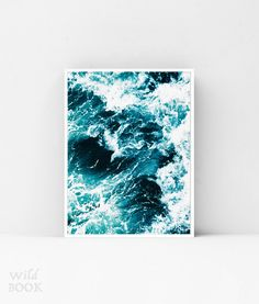 Ocean Wave Print, Surf Poster, Ocean Print, Seascape Poster, Fine Art Photography, Beach Style Poster, Digital Print, Instant Download by WildBOOK on Etsy https://www.etsy.com/listing/479602023/ocean-wave-print-surf-poster-ocean-print