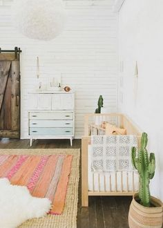 How to add a vintage rug in to the nursery design