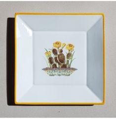 Vide-poches Cactus jaune