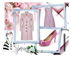 """""""PastelSpring"""" by makishop ❤ liked on Polyvore featuring Salvatore Ferragamo, Anouska Hempel and Burberry"""