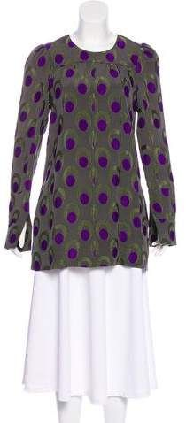 Marni Patterned Long Sleeve Top