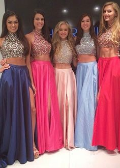 Sherri Hill 32020 Beaded Two Piece