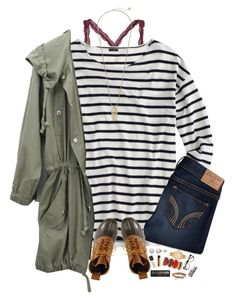 """""""RTD!!"""" by kat-attack ❤ liked on Polyvore featuring J.Crew, Hollister Co., L.L.Bean, Honora, Michael Kors, NARS Cosmetics, Forever 21, Aéropostale, ZeroUV and Christian Dior"""