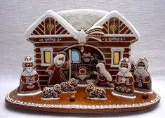 Today we are looking at Moravian and Bohemian gingerbread designs from the Czech Republic. Back home, gingerbread is eaten year round and beautifully decorated cookies are given on all occasions. Advent Season, Naan, Holiday Cookies, Gingerbread Cookies, Gingerbread Houses, Czech Republic, Cookie Decorating, Christmas Time, Merry Christmas