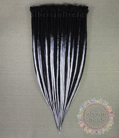 Here is beautiful gothic style both crocheted black SE and black&white ombre Dreadlock hair extensions for T😘 😎😈💗 It is really beautiful isn't it😌💜 You can made to order. Check this link.  www.etsy.com/listing/536183959 and www.etsy.com/listing/527598592  You can request custom order also with different colours combinations.🐞🐝🐛🌻🍄 Hi🙋Lovely people come and look around our updating works.💁💗💓 www.etsy.com/SiberianDreads/updates I and husband are great team 👍and take pride in our…