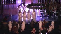 Kinder- en tienerkoor EigenWijs uit Naaldwijk voerde de kerstmusical 'Een licht in het donker' op bij het kinderkerstfeest in de Oude Kerk te Naaldwijk op 20...