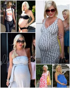 tori spelling pregnancy style - like most of these, NOT the bathing suit though