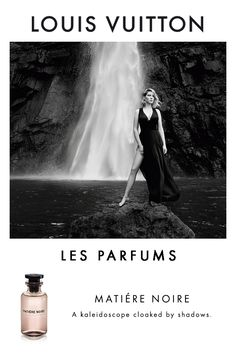 Matière Noire Les Parfums Louis Vuitton. A blend of dark wood and white flowers ventures into a world of mystery. Click to Discover the Scent