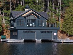 Boathouse Blue-boathouse