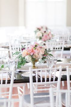 You Might Be Dreaming In Pink After Seeing This New York Wedding Luxury Wedding Decor, Romantic Wedding Decor, Romantic Wedding Inspiration, Tent Wedding, Unique Weddings, Floral Wedding, Wedding Colors, Wedding Reception, Wedding Dress