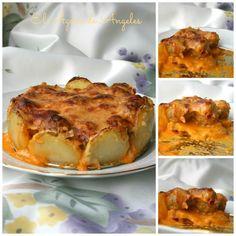 Tarta de albóndigas | Cocina