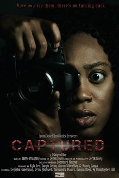 'Once you see them, there's no turning back.' Captured is a 2017 horror thriller feature film written and directed by Johnnard Harper (Urban Myths; short: Miss Mary Mack). Scary Movies To Watch, Best Horror Movies, Classic Horror Movies, Thriller Film, Thriller Books, Psychological Horror, Christian Videos, Horror Movie Posters, Best Horrors