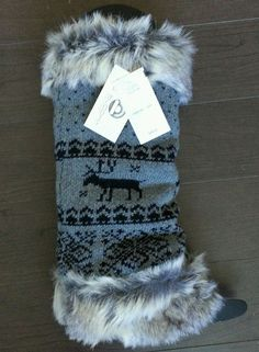 Big Buddha Leg Warmers Faux Fur Boot Covers Topper Knitted Wool NWT #BigBuddha. Do I need these to go with all my boots?
