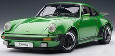 Porsche 911 3.0 Turbo in Viper Green Metallic  Millennium Series  1:18 Scale diecast car.  Very detailed.  Part # Autoart 77974 $123.95  http://www.kcautoacc.com/Porsche-911-30-Turbo-Viper-Green-Metallic-118-Scale-Diecast-Autoart-77974_p_14267.html