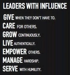 https://thoughtleadershipzen.blogspot.com/ Leaders with influence