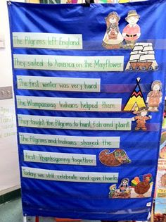 Life Is Sweet....In Kindergarten!: Thanksgiving